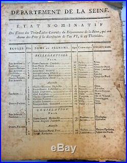 1092a-autographes-bonaparte-berthier-maret-brevet-thuillier-empire-1803