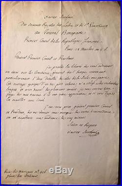11 Lettres-Xavier Scrofani-République Italienne-Bonapartiste-Sicile-Italie-1800