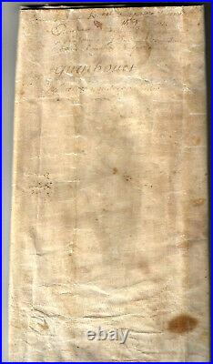 1589 Sous HENRI IV, Superbe charte, Parchemin en peau, 82 x 60 cm