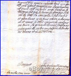 1652 prise de Tarascon la rebelle! Lettre de LOUIS DE VENDOME prince de sang
