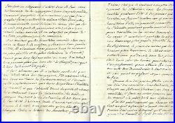 1770. Militaria. Mémoire manuscrit. Alexandrede Courteville. Comte d' Hodicq. RR