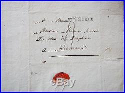 1788 Gratet de DOLOMIEU à son ami MOUNIER situation apres journée des Tuiles