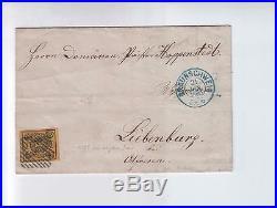 1860 Letter of Braunschweig Othfresen. Signed G. Lamy gesehen von Behr