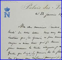 1870 Napoléon III dit marcher vers l'avenir avec confiance