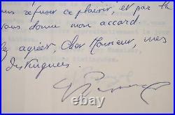 3 lettres du peintre surréaliste bulgare, Georges Papazoff