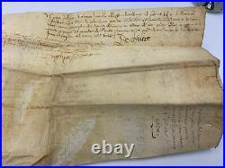 7 Parchemins XIV Deux Sèvres Bressuire Manuscrit, Médiévale, Vieux Papiers
