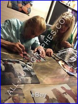 AUTOGRAPHE SUR PHOTO 20 x 25 de Jan-Michael VINCENT signed person + Photo Proof