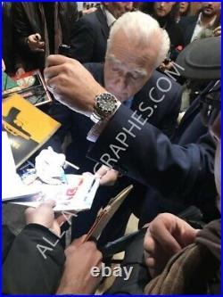 AUTOGRAPHE SUR PHOTO 20 x 25 de Martin SCORSESE (signed in person + video proof)