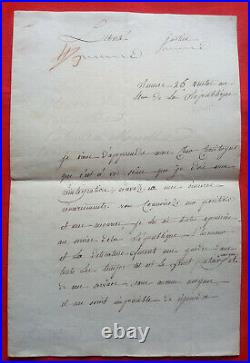 Ac6-l. A. S-jean Louis Eloi Bouvard-guerre Des Chouans-vendee-1796