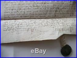 Acquet en 1379 de la métairie de Goaffec  à Keramprat en Pleyben Bretagne