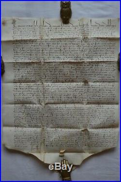 Acte sur Parchemin Juillet 1434