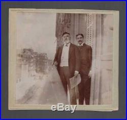Adrien Et Robert Proust / Photographie Rue De Courcelles / Marcel Proust