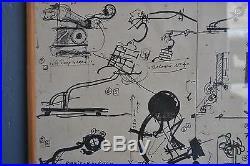 Affiche Jean Tinguely daté de 1981