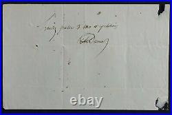 Alexandre DUMAS père autographe #2