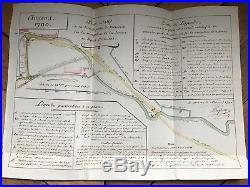 Amiens / Canal De La Somme / Manuscrits Et Cartes (1791) / Général Dejean