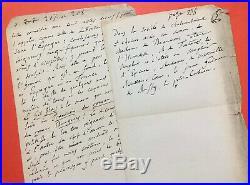 Anatole FRANCE Manuscrit autographe