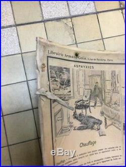 Ancienne Carte Scolaire Armand Colin Medecin École