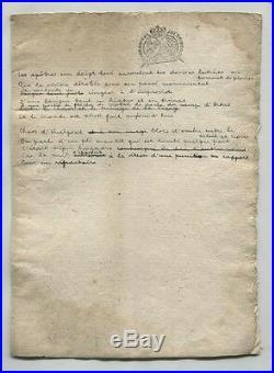André Breton Les Apôtres Manuscrit Poème Autographe Inédit