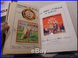 Annuaire Comindus du Lait 1958 avec Ancienne Etiquettes Fromage dont Camembert