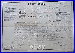 Aristide BRUANT autographe