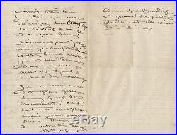 Art Rosa BONHEUR (1822-1899) Lettre autographe signée peinture sculpture