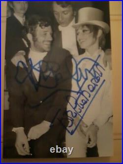 Autographe De Brigitte Bardot Et Jean-Paul Belmondo