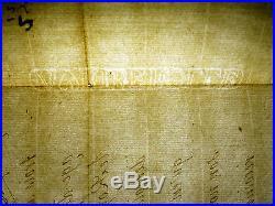 Autographe LOUIS-ALEXANDRE DE BOURBON Louis XIV Montespan DUC NOAILLES Saint-Cyr