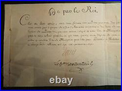 Autographe Louis XVI