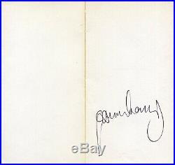 Autographe ORIGINAL de SERGE GAINSBOURG sur son livre Euguénie SOKOLOV 1980