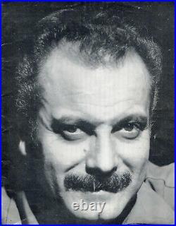 Autographes Dédicaces de GEORGES BRASSENS & BARBARA sur Programme BOBINO 64/65