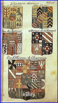 BEAU LIVRE 1689 METHODE DU BLASON Ménestrier chez Amaulry Lyon