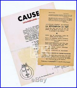 BRETON Surréalisme 2 Doc BONNEFOY BRAUNER Révolution ALEXANDRIAN HENEIN 1946/47