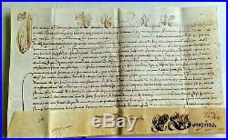 BULLE-PAPE INNOCENT XI 1689 manuscrite en son nom -très rare
