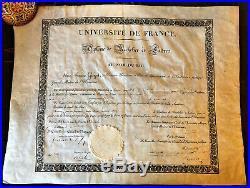 Baccalauréat Es Lettres Du Célèbre Auteur De Pièces De Thétre Eugène Labiche
