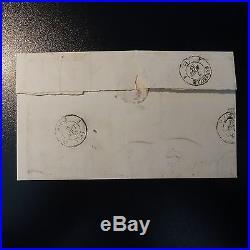 Bande N°22/23 Lettre Taxe Pc 3112 Rome Vatican Civita Vecchia Dalla Via DI Mare