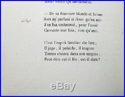 Baudelaire Les Fleurs Du Mal Eo 1857 Édition Originale Avec 5 Corrections