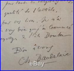 Baudelaire tarde à terminer son article consacré à Guys