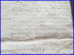 Belle Et Rare Lettre Manuscrite Originale Signee Par Louis XV 18 Fevrier 1770
