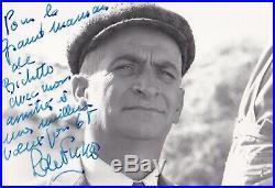 Belle photo autographe signée Louis de Funès dédicace 1968 Petit Baigneur signed