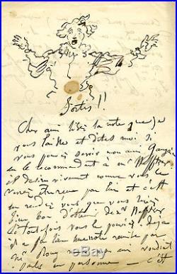 Boulanger lettre avec dessin