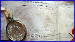 Bretagne 1800 BREF du GRAND ORIENT DE FRANCE nomination à vannes Morbihan
