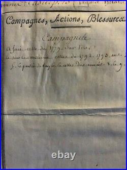 Brevet de capitaine signé de BERTHIER, BONAPARTE et MARET (1803)