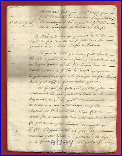 Bs84-memoire Riviere De L'ariege-belot-comte De Foix-1780
