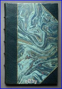 CAPRICE D'UN BIBLIOPHILE par Octave UZANNE 1878 reliure demi maroquin signée