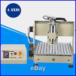 CNC 3040 la machine de gravure 4 Axis CNC Router Engraver Machine 800W + mach3