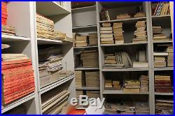 COLLECTION UNIQUE 35000 JOURNAUX, MAGAZINES, VIEUX PAPIERS, PARTITIONS, Etc
