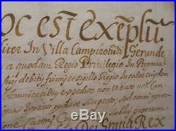 Camprodon Setcases Catalogne parchemin et vieux documents