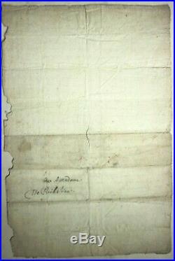 Cardinal Armand Duplessis de RICHELIEU LETTRE AUTOGRAPHE A SA MERE c. 1612