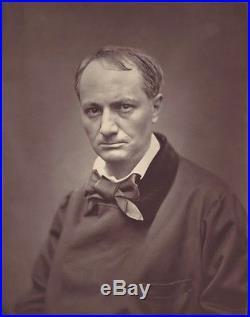 Carjat Portrait De Charles Baudelaire 1878 En Photoglyptie