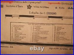 Carte Vidal LABLACHE MEZIERES N°30 ITALIE Librairie ARMAND COLIN
